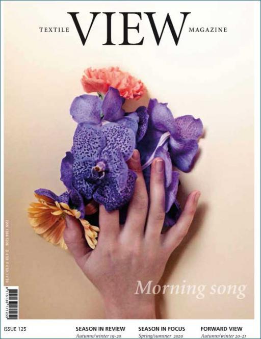 View Textile Magazine, Abonnement Welt Luftpost