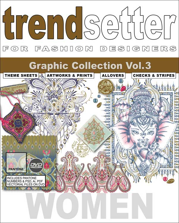 Trendsetter Women Graphic Collection Vol 3 Incl Dvd Mode Information Gmbh