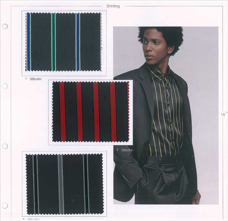 Biella Textile Workshop Shirting A/W 2020/2021 | mode
