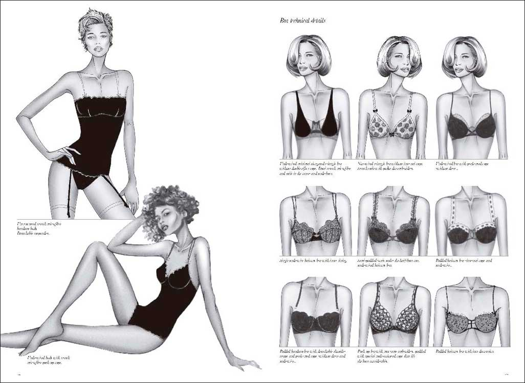 Lingerie Beachwear 1 000 Fashion Designs Mode Information Gmbh